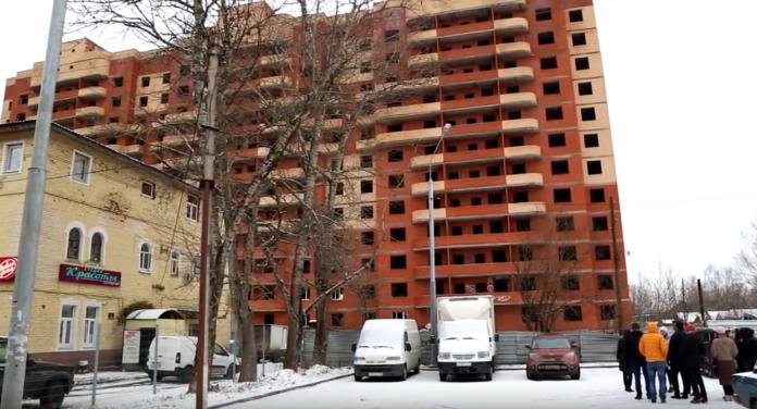 """Фотоотчет со строительной площадки ЖК """"Кокошкино"""" - январь 2020 года"""